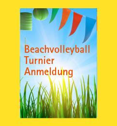 Anmeldung Beachvolleyball-Turnier